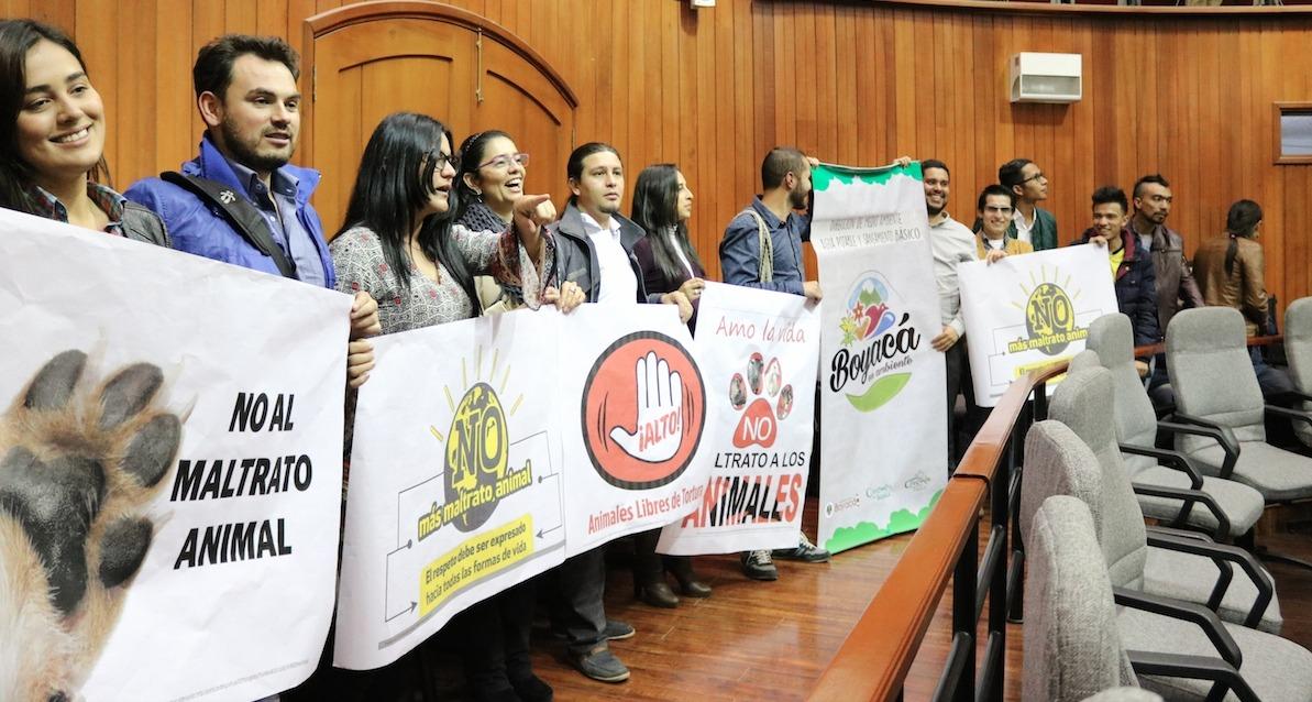 Foto: Prensa Asamblea de Boyacá