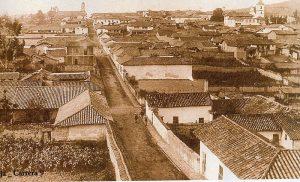 Tunja en 1910. Foto Henry Duperly/Imagen tomada de Wikipedia